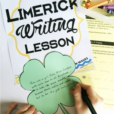 Limerick Writing Lesson