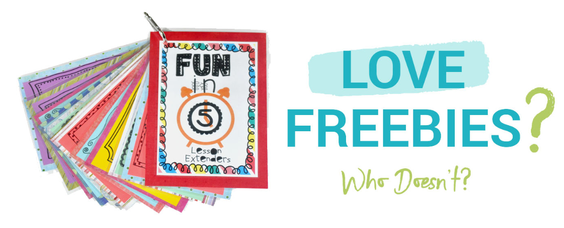 Love Freebies?  Who Doesn't?